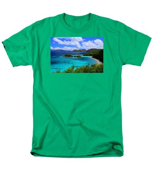 Thank You St. John Usvi Men's T-Shirt  (Regular Fit) by Fiona Kennard