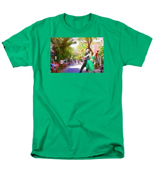 Men's T-Shirt  (Regular Fit) featuring the painting Urban Dancers  by Judy Kay
