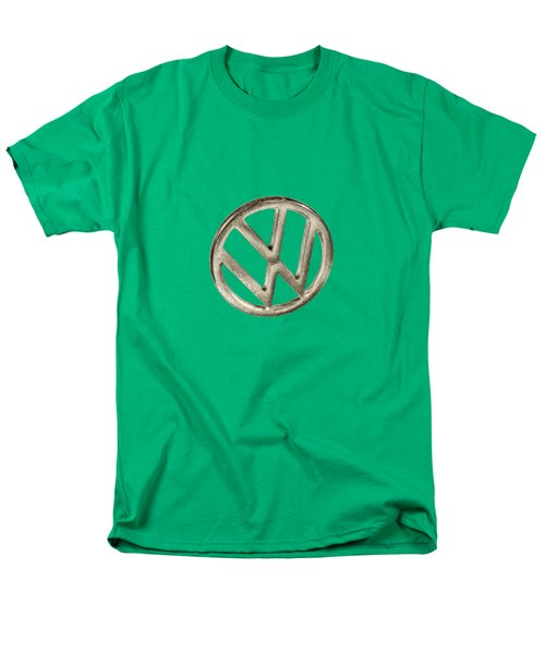 Vw Car Emblem Men's T-Shirt  (Regular Fit) by YoPedro