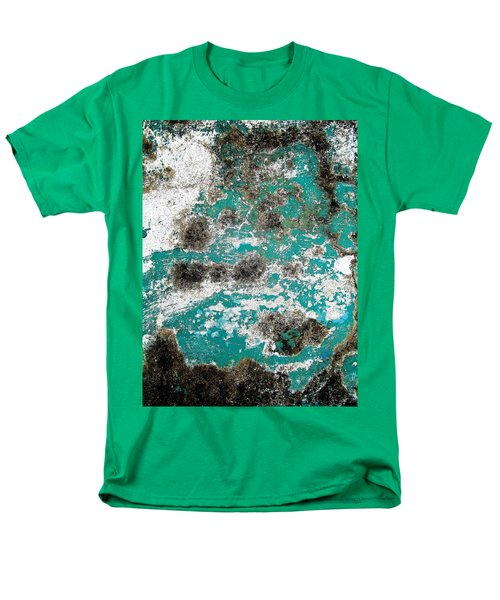 Wall Abstract 171 Men's T-Shirt  (Regular Fit) by Maria Huntley