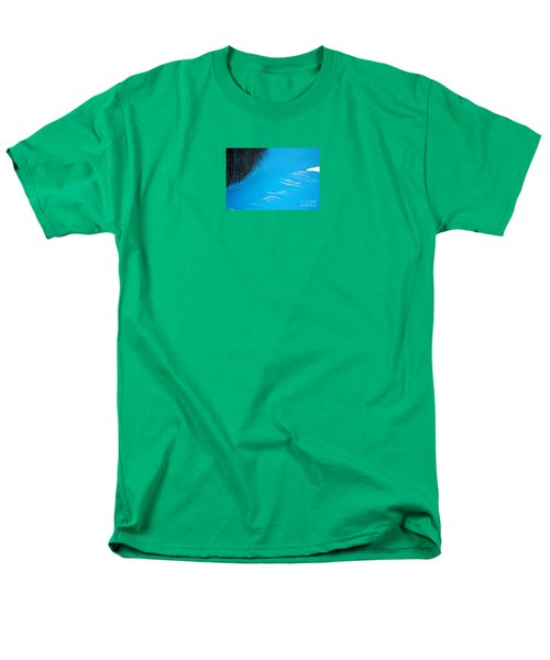 Men's T-Shirt  (Regular Fit) featuring the photograph We Got The Blues - Winter In Switzerland by Susanne Van Hulst