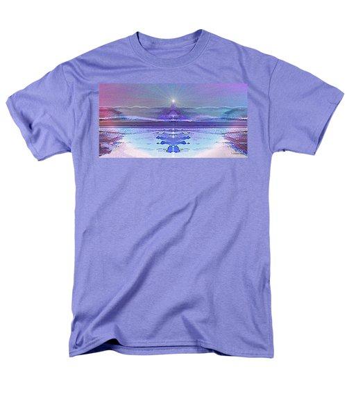 934 - Magic Light Beacon 2017 Men's T-Shirt  (Regular Fit) by Irmgard Schoendorf Welch