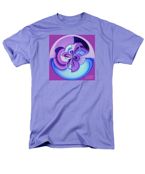Men's T-Shirt  (Regular Fit) featuring the photograph Abstract Circle Squared by Chris Anderson