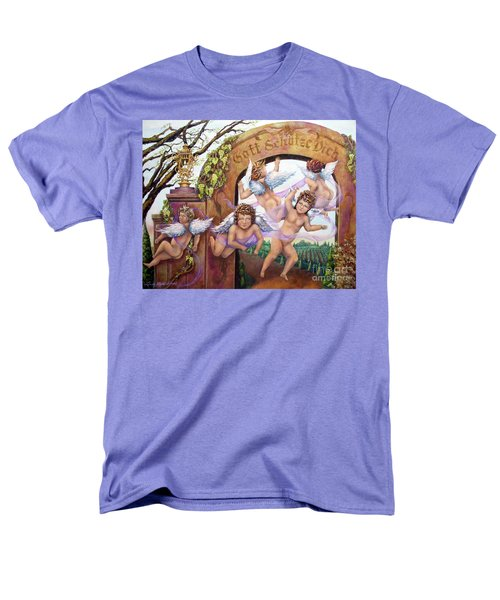 Angelika Men's T-Shirt  (Regular Fit) by Linda Simon