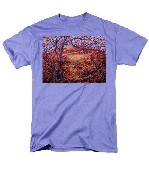 Men's T-Shirt  (Regular Fit) featuring the painting Beautiful Autumn by Natalie Holland