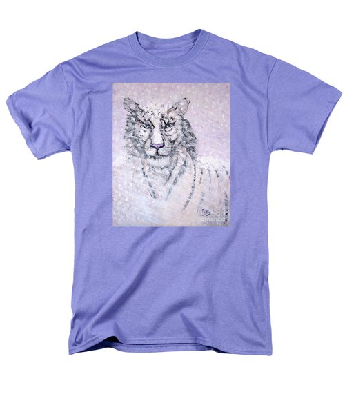 Men's T-Shirt  (Regular Fit) featuring the painting Chairman Of The Board by Phyllis Kaltenbach