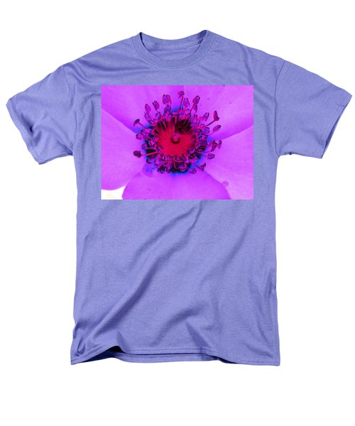 Cherry Pie Rose - Photopower 2827 Men's T-Shirt  (Regular Fit) by Pamela Critchlow