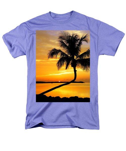 Crooked Palm Men's T-Shirt  (Regular Fit) by Karen Wiles