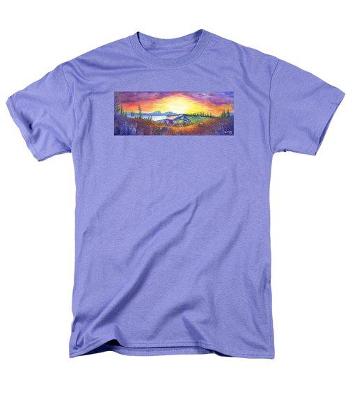 Dark Star Orchestra Dillon Amphitheater Men's T-Shirt  (Regular Fit) by David Sockrider