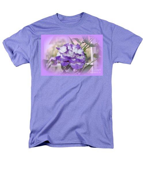 Flower In A Haze Men's T-Shirt  (Regular Fit) by Linda Prewer