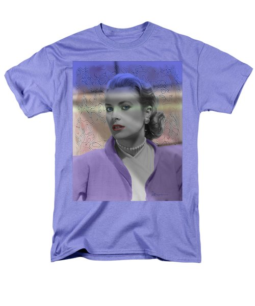 Grace Kelly - Featured In Comfortable Art Group Men's T-Shirt  (Regular Fit) by EricaMaxine  Price