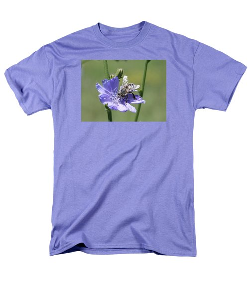honeybee on Chickory Men's T-Shirt  (Regular Fit) by Lucinda VanVleck