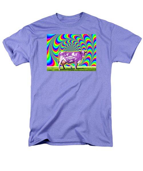 Men's T-Shirt  (Regular Fit) featuring the digital art How Now Dow Cow? by Scott Ross