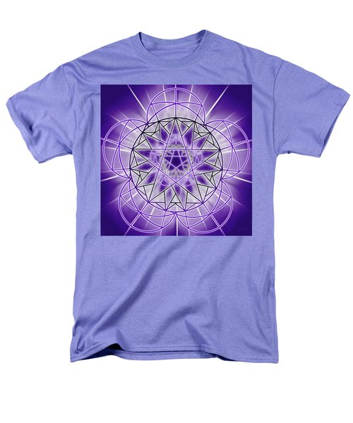 Men's T-Shirt  (Regular Fit) featuring the drawing In'phi'nity Star-map by Derek Gedney