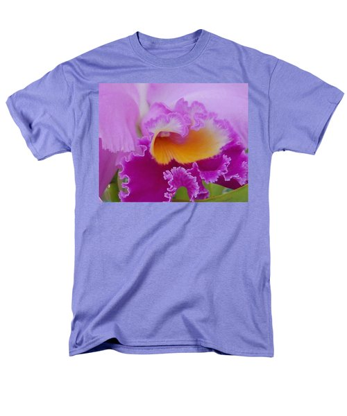 Men's T-Shirt  (Regular Fit) featuring the photograph Lavender Orchid by Aimee L Maher Photography and Art Visit ALMGallerydotcom
