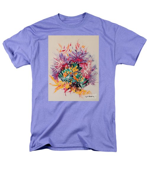 Men's T-Shirt  (Regular Fit) featuring the painting Mixed Coral by Lyn Olsen