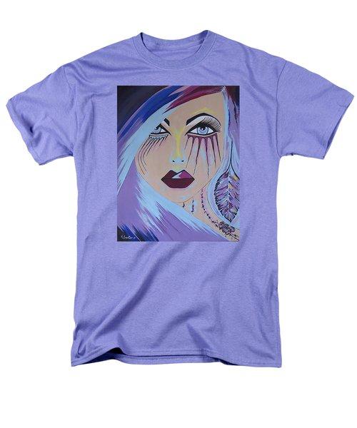 Men's T-Shirt  (Regular Fit) featuring the painting Naira by Kathleen Sartoris