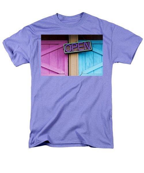 Open Men's T-Shirt  (Regular Fit) by Paul Wear