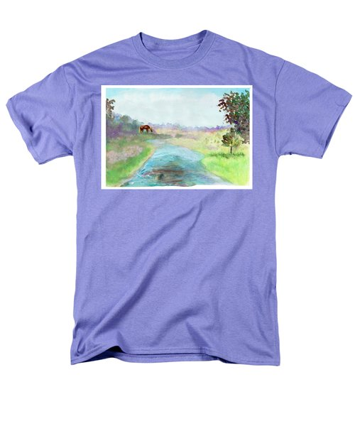Peaceful Day Men's T-Shirt  (Regular Fit) by C Sitton