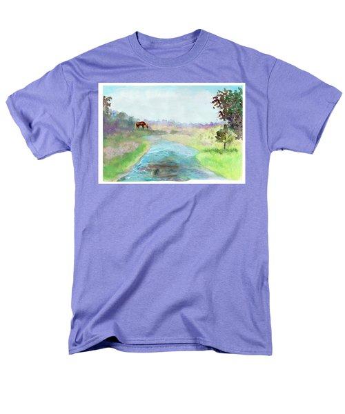 Peaceful Day Men's T-Shirt  (Regular Fit)