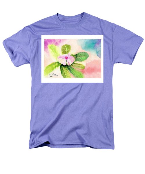 Periwinkle Men's T-Shirt  (Regular Fit) by C Sitton
