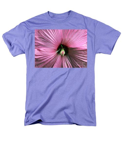 Pie Plate Hibiscus Men's T-Shirt  (Regular Fit) by Nina Silver