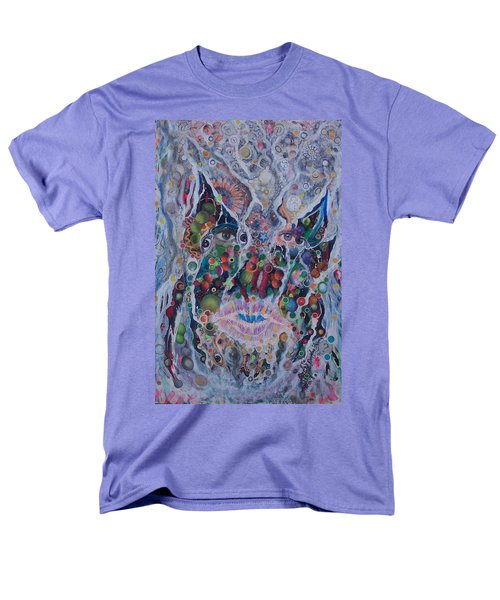 Men's T-Shirt  (Regular Fit) featuring the mixed media Portrait Of Art Brutus by Douglas Fromm