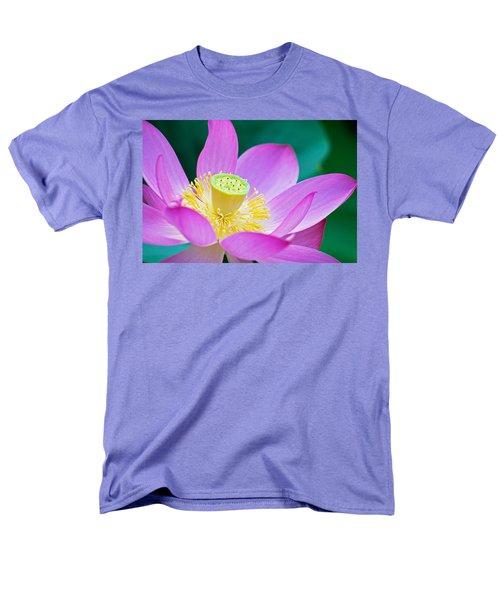 Purple Lotus Blossom Men's T-Shirt  (Regular Fit) by Michael Porchik
