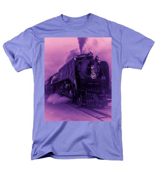 Purple Smoke Men's T-Shirt  (Regular Fit) by Bartz Johnson