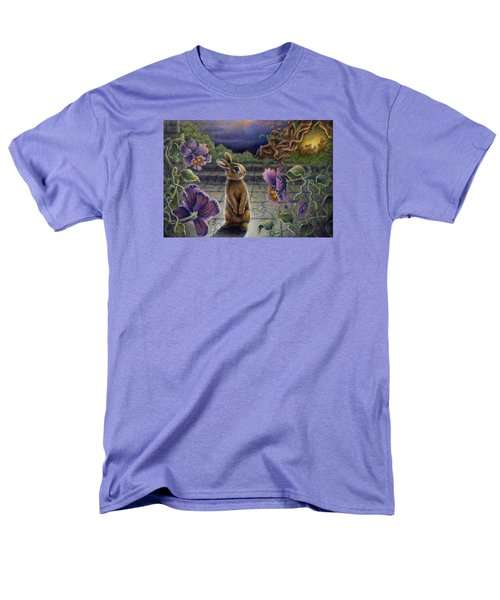 Rabbit Dreams Men's T-Shirt  (Regular Fit) by Retta Stephenson