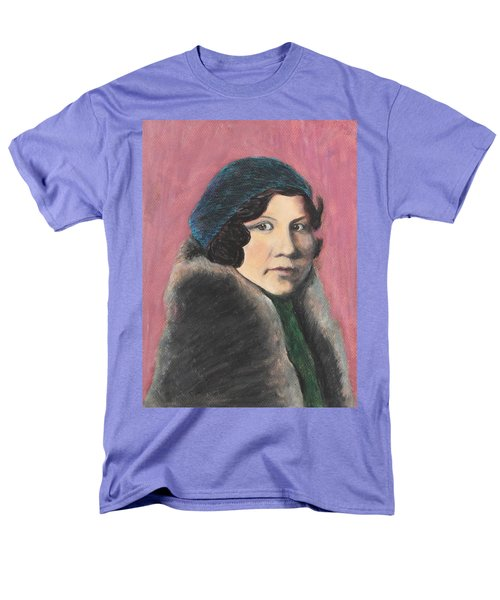 Men's T-Shirt  (Regular Fit) featuring the painting Serenity by Jeanne Fischer