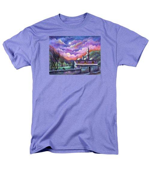 Shoot For The Moon Men's T-Shirt  (Regular Fit) by Retta Stephenson