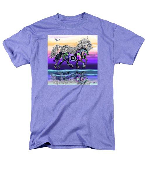 Spirit Horse Men's T-Shirt  (Regular Fit) by Michele Avanti