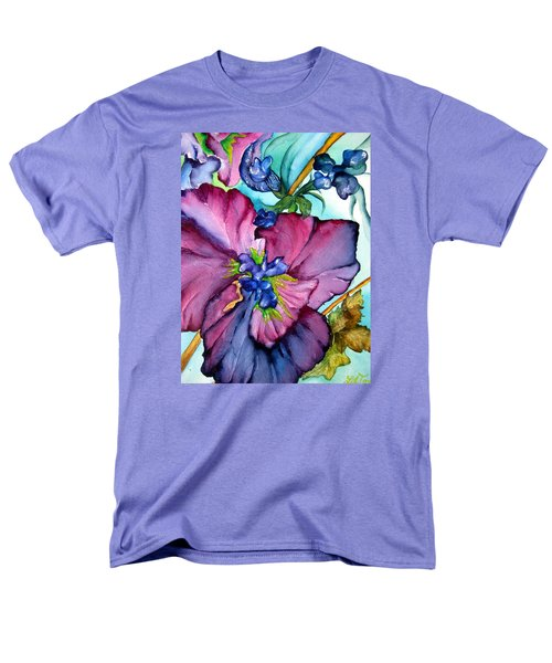 Sweet And Wild In Turquoise And Pink Men's T-Shirt  (Regular Fit) by Lil Taylor