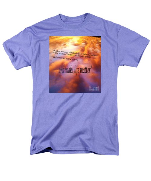 The Beauty In Nature Men's T-Shirt  (Regular Fit) by Robin Coaker