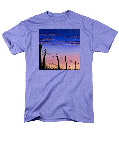 The Birds - Morning Has Broken Men's T-Shirt  (Regular Fit) by Jack Malloch