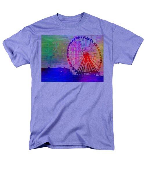 The Great  Wheel Cubed Men's T-Shirt  (Regular Fit) by Tim Allen