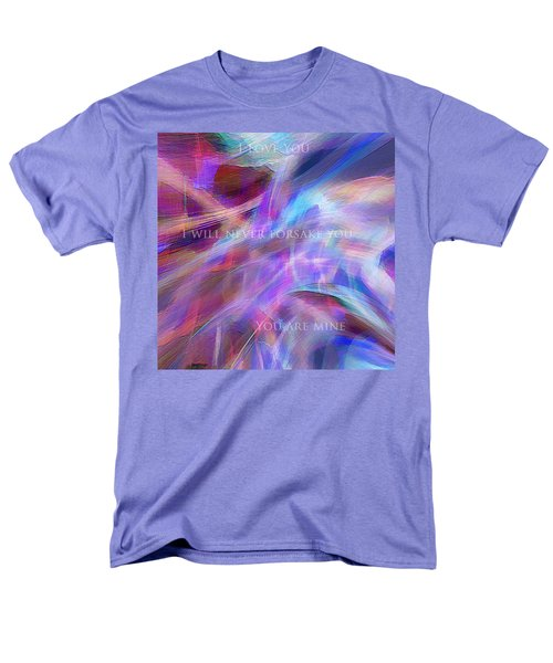 Men's T-Shirt  (Regular Fit) featuring the digital art The Writing's On The Wall by Margie Chapman