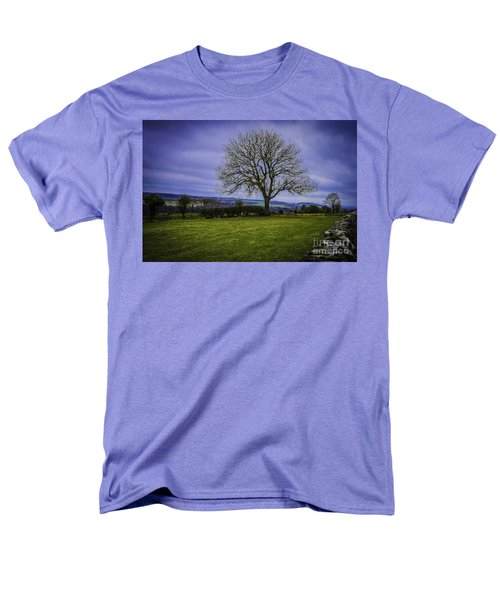 Tree - Hadrian's Wall Men's T-Shirt  (Regular Fit) by Mary Carol Story