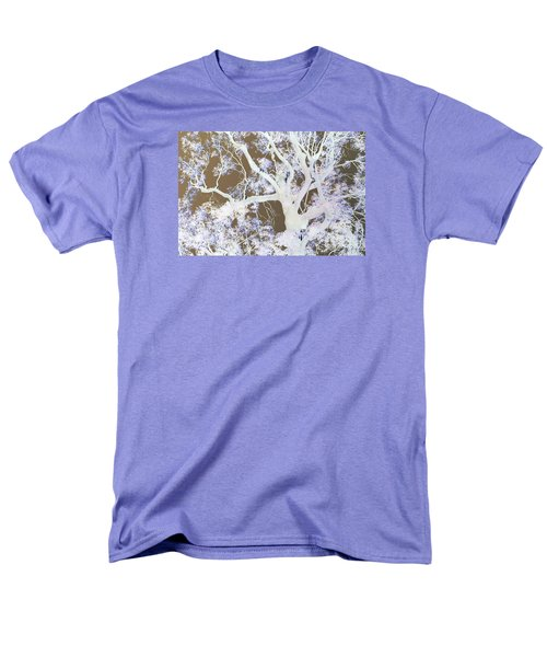 Men's T-Shirt  (Regular Fit) featuring the photograph Tree Inversion by Cassandra Buckley