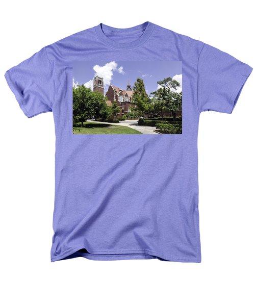 Uf University Auditorium And Century Tower Men's T-Shirt  (Regular Fit) by Lynn Palmer