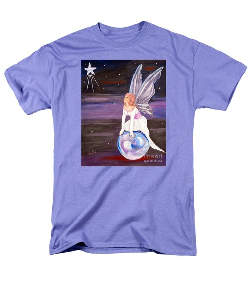 Men's T-Shirt  (Regular Fit) featuring the painting When You Dream by Phyllis Kaltenbach