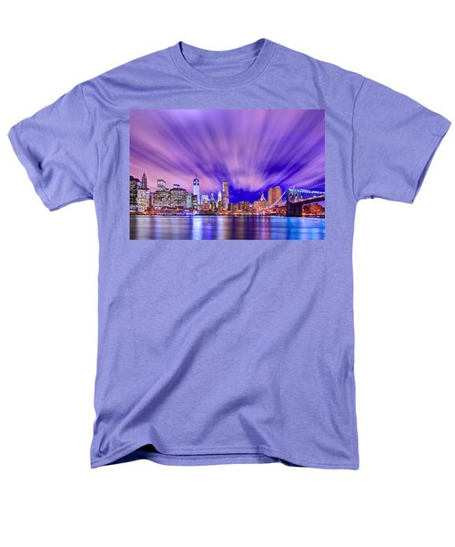 Winds Of Lights Men's T-Shirt  (Regular Fit) by Midori Chan