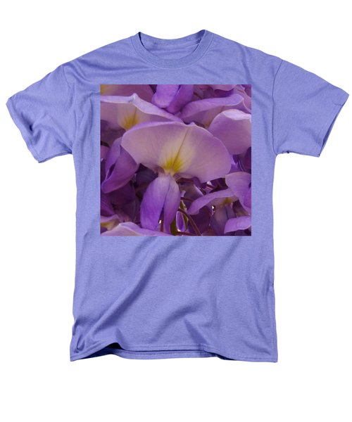 Wisteria Parasol Men's T-Shirt  (Regular Fit) by Claudia Goodell