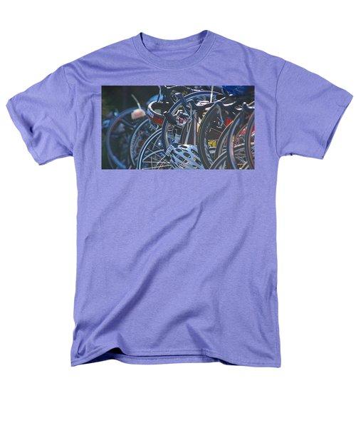 Racing Bikes Men's T-Shirt  (Regular Fit) by Sarah McKoy