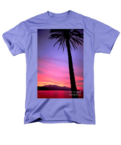 Men's T-Shirt  (Regular Fit) featuring the photograph Sunset by Luciano Mortula