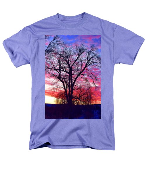 Men's T-Shirt  (Regular Fit) featuring the photograph -11 Sunrise by Dacia Doroff