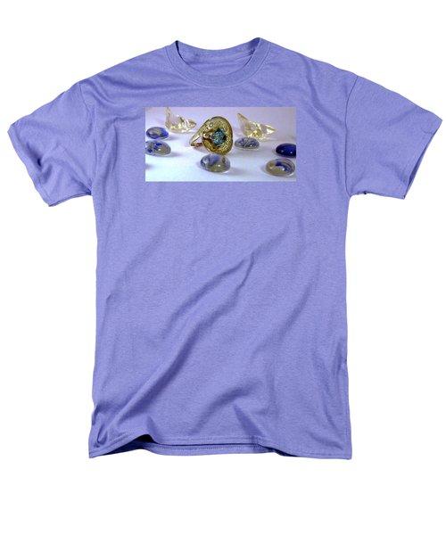 Rhapsody In Blue Men's T-Shirt  (Regular Fit) by Mikhail Savchenko