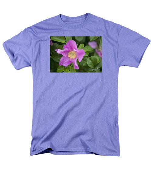 Men's T-Shirt  (Regular Fit) featuring the photograph Wild Rose by Alana Ranney