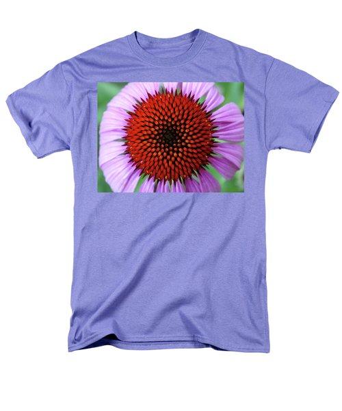 Purple Coneflower  Men's T-Shirt  (Regular Fit) by Rebecca Overton